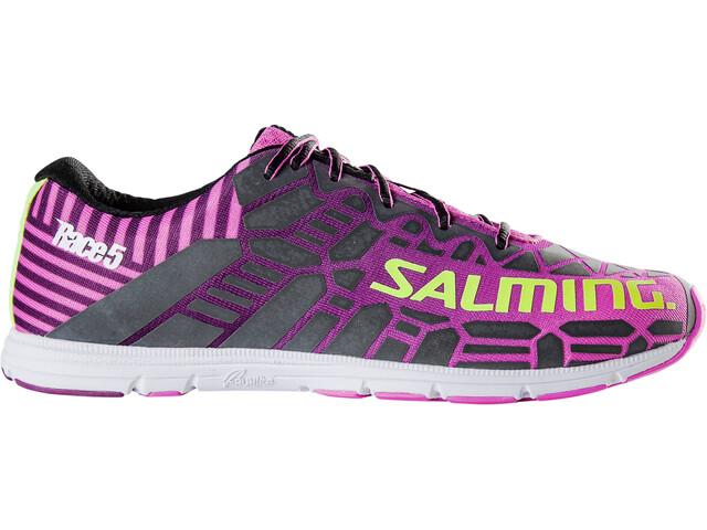 a3d409ebcb4 Salming W's Race 5 Shoes Azalea Pink - addnature.com